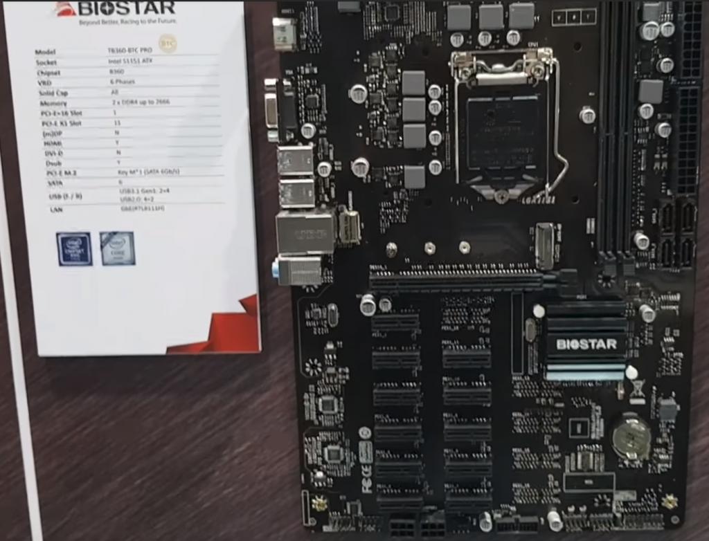 Biostar TB360-12-slot